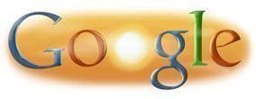 Google Doodle sobre el solsticio de verano de 2008