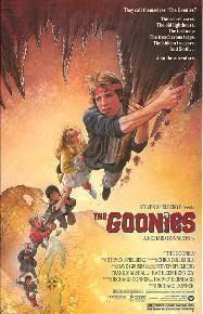 "Cartel original de ""Los Goonies"" (Richard Donner, 1985)"