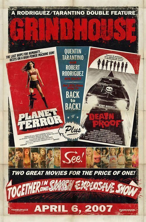 """""""Grindhouse"""" (Quentin Tarantino, 2007)"""