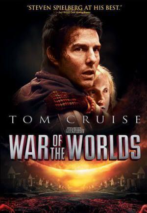 """Cartel original de """"La Guerra de los Mundos"""" (""""War of the Worlds"""",2005)"""