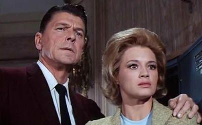 """Ronald Reagan en """"Código del Hampa"""" (1964)"""