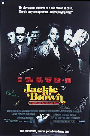 "Cartel de ""Jackie Brown"" (1997)"