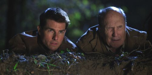 "Tom Cruise y Robert Duvall en ""Jack Reacher"" (2012)"