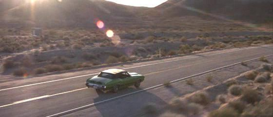 "Oldsmobile Cutlass 442 de 1972 en ""Jugando a Tope"" (""Play it to the Bone"", 1999)"