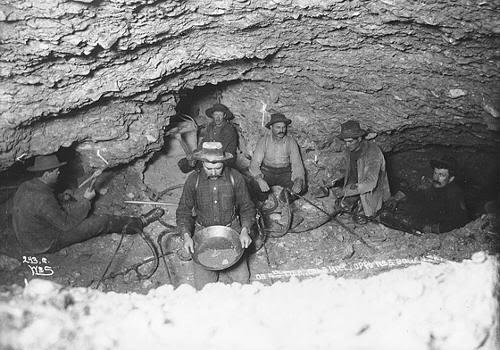 Fiebre del oro de Klondike (Foto de 1898)