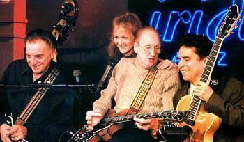 Les Paul y su banda, en el Iridium