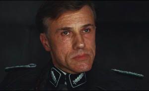 """Christoph Waltz en """"Malditos Bastardos"""" (""""Inglourious Basterds"""", 2009), de Quentin Tarantino"""