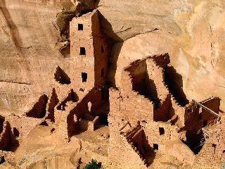 Construcción típica de Mesa Verde