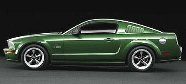 Revisión 2008 del Mustang de Bullitt