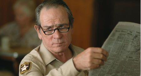 """Tommy Lee Jones en """"No es País para Viejos"""" (""""No Country for Old Men"""", 2007)"""
