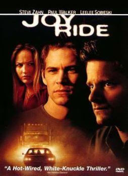 """Cartel de """"Nunca Juegues con Extraños"""" (""""Joy Ride"""", 2001)"""