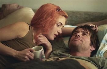 "Jim Carrey en ""Olvídate de mí"" (""Eternal Sunshine of the Spotless Mind"", 2004)"