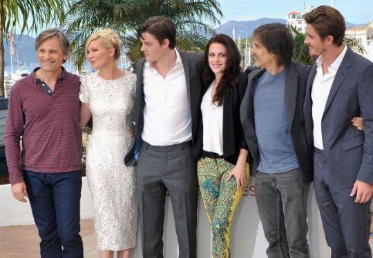 El reparto, en Cannes