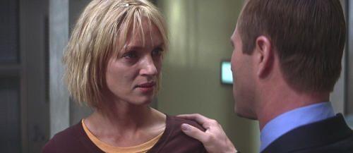 "Uma Thurman en ""Paycheck"" (2003)"