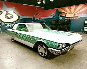 "Ford Thunderbird al estilo ""Pimp My Ride"""