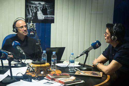 Paco Pérez Bryan y el Oldie durante el programa
