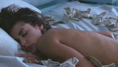 """Demi Moore en """"Una Proposición Indecente"""" (""""Indecent Proposal"""", 1993)"""