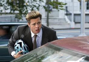 """Brad Pitt en """"Quemar Después de Leer"""" (""""Burn After Reading"""", 2008)"""