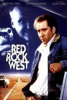 """Cartel de """"Red Rock West"""" (John Dahl, 1993)"""