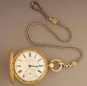 Reloj de Lincoln con inscripciones secretas