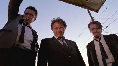 """La famosa escena del maletero de """"Reservoir Dogs"""" (Quentin Tarantino, 1992)"""