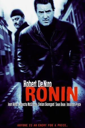 """Cartel de """"Ronin"""" (John Frankenheimer, 1998)"""
