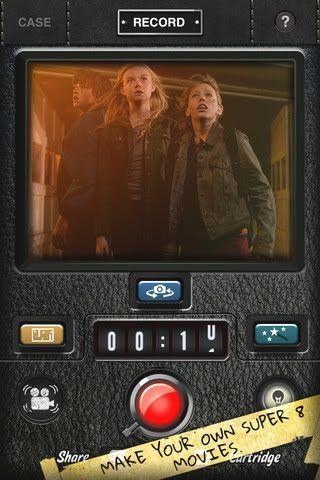 "La app de la película ""Super 8"" para iPhone"