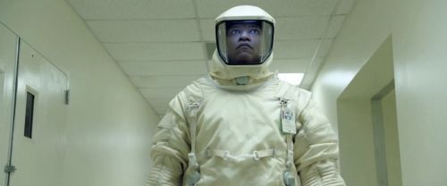 "Laurence Fishburne en ""La Señal"" (""The Signal"", 2014)"