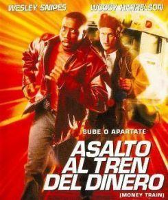 """Cartel de """"Asalto al Tren del Dinero"""" (""""Money Train"""", 1995)"""