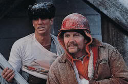 """John Voight y Eric Roberts en """"El Tren del Infierno"""" (""""Runaway Train"""", 1985)"""