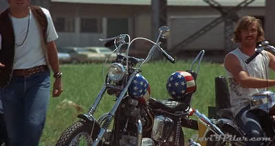 "Una chopper como la de Easy Rider !!! ""Punto Límite Cero"" (Vanishing Point, 1971)"