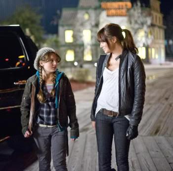 """Abigail Breslin y Emma Stone en """"Bienvenidos a Zombieland"""" (""""Zombieland"""", 2009)"""