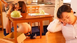JUL-086 The Housewife From Next Door Toyed With Me By Wearing The Naked Apron Yuka Oshima