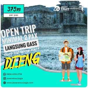 open trip dieng murah