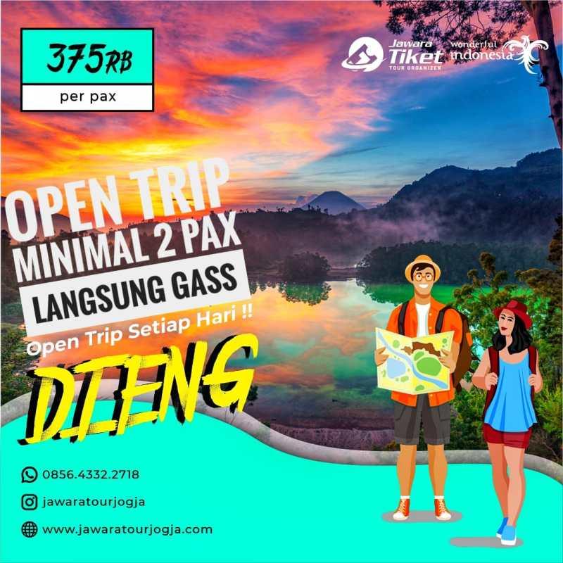open trip dieng