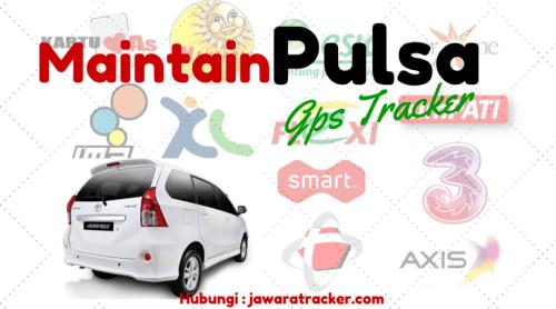 Maintain pulsa gps tracker