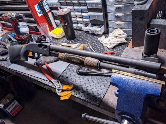 Jawbone Tactical Mossberg 590A1