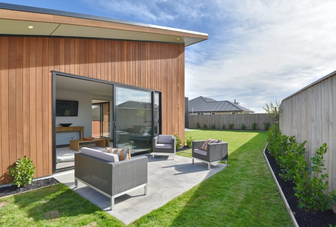 JAW Construction Rolleston builders photo of outside living
