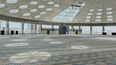 افتتاح مسجد جامعة تبوك أكبر قبة بلا أعمدة بالشرق الأوسط