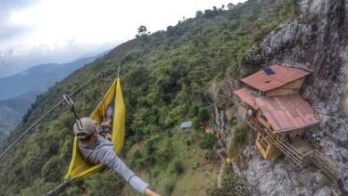 لمحبي المغامرة فندق معلق على منحدر صخري في كولومبيا