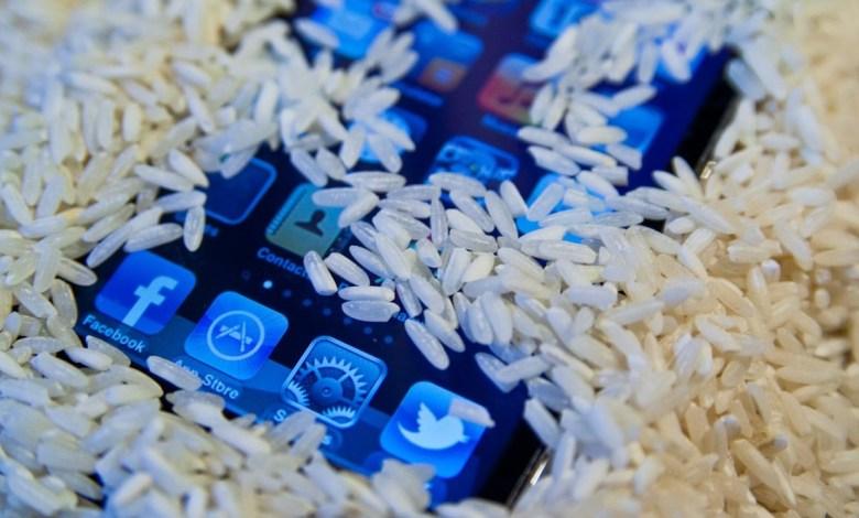 لماذا لا يجب أن تضع هاتفك المبلل في الأرز الجاف؟