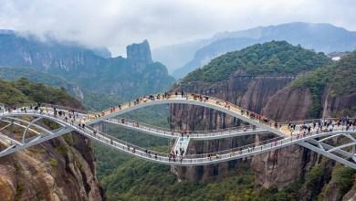 تعرف على جسر روى .. ابداع صيني يقطع الأنفاس!