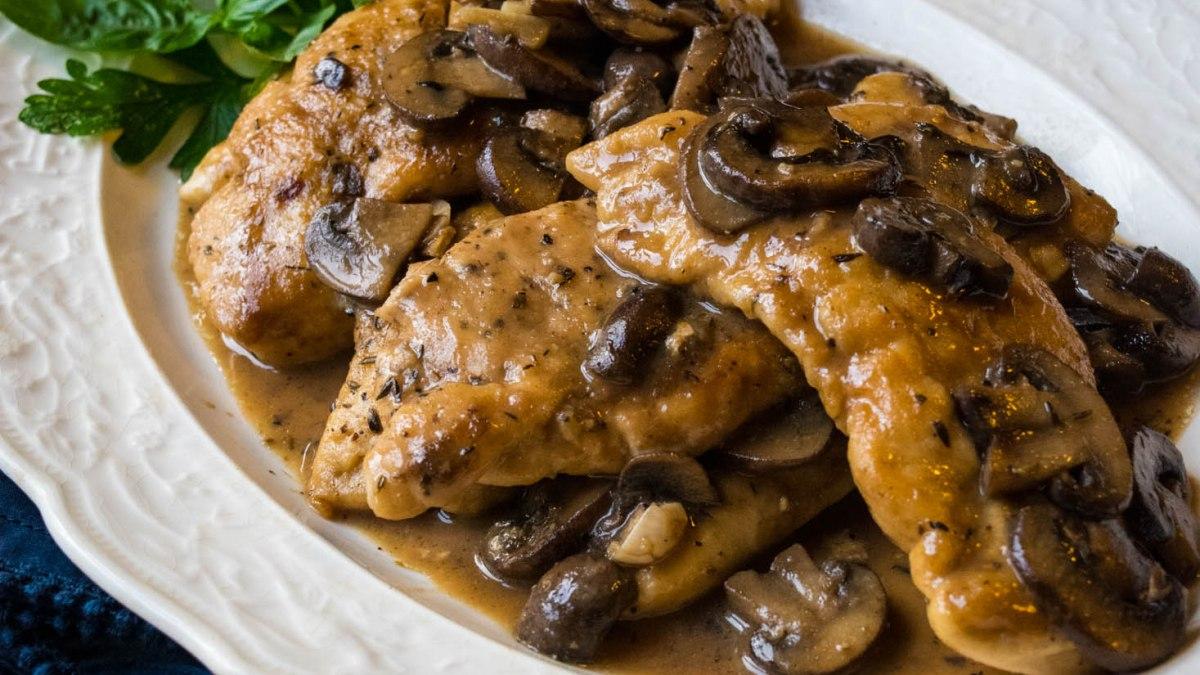 weeknight chicken marsala