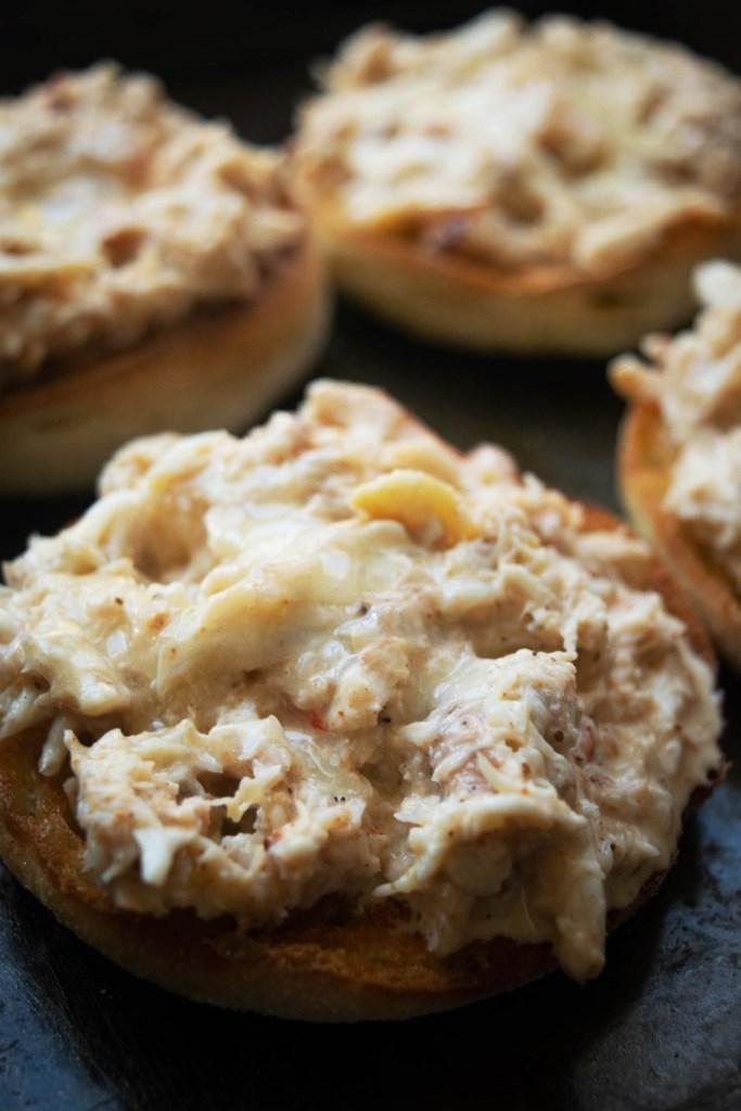 Crab Imperial Eggs Benedict