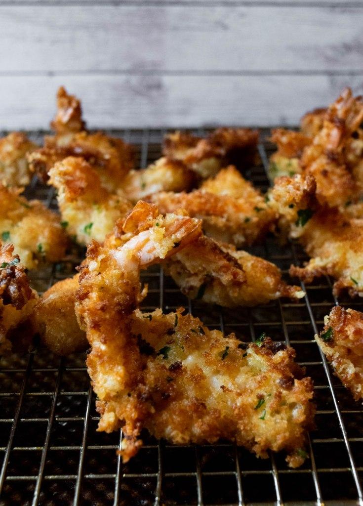 parmesan breaded shrimp