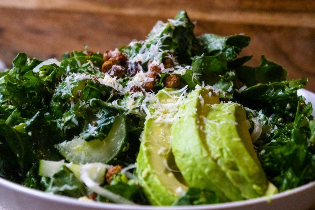kale and avocado