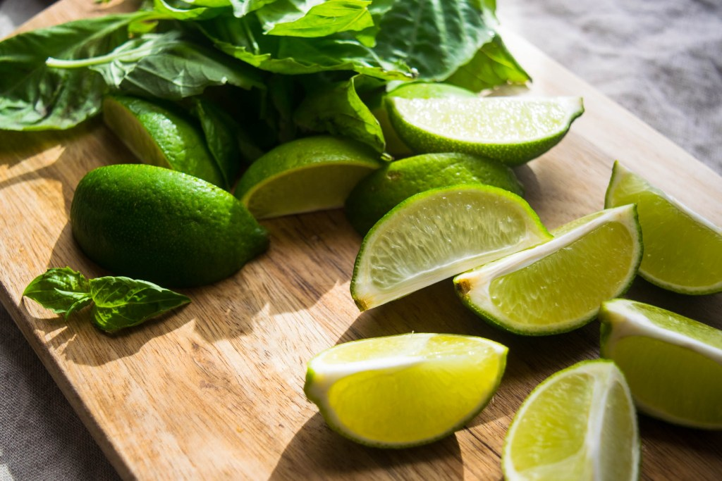 Boozy Basil Brazilian Lemonade