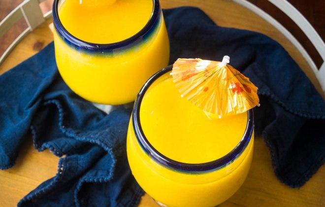 Mango White Claw Slushie