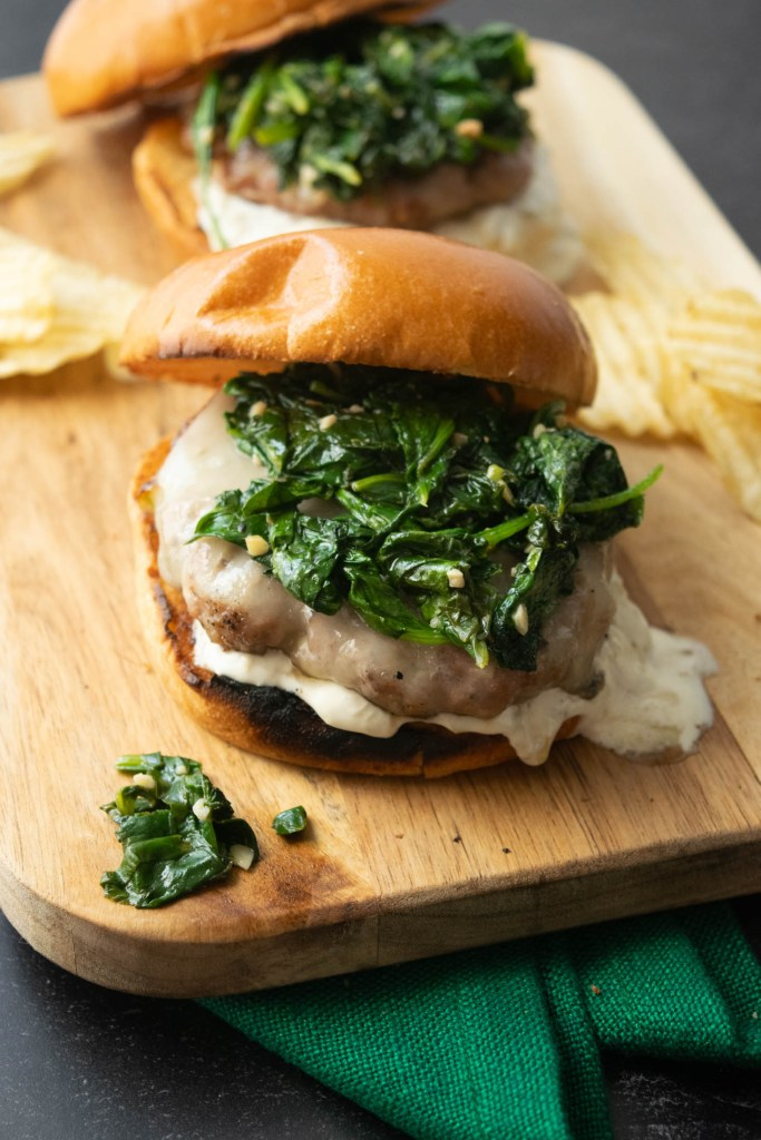 South Philly Italian Roast Pork Burger