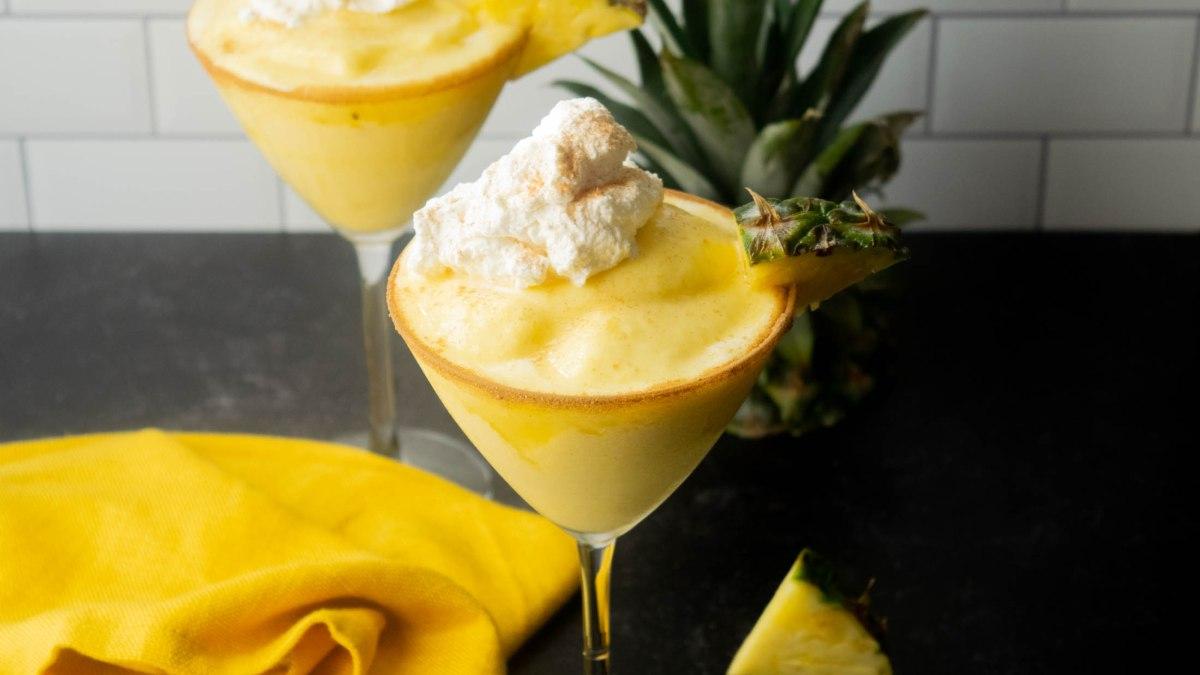 frozen pineapple cinnamon colada
